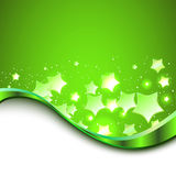 Beautiful green background. Vector Royalty Free Stock Photography