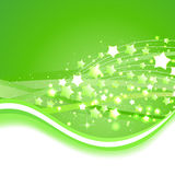 Beautiful green background. Vector Illustration Royalty Free Stock Photo