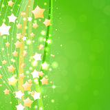 Beautiful green background. Vector Illustration Royalty Free Stock Photos