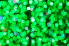 Beautiful green bokeh background Royalty Free Stock Photography
