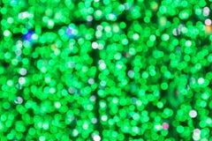 Beautiful green bokeh background Royalty Free Stock Photo