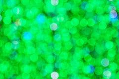 Beautiful green bokeh background Royalty Free Stock Image