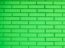 Beautiful green bricks. The afternoon of my beautiful green bricks Stock Photos