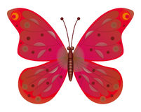 A beautiful green butterfly.  EPS10 Stock Image