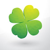 Beautiful green cloverleaf Royalty Free Stock Image