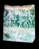 Beautiful Green Crystals Stock Image