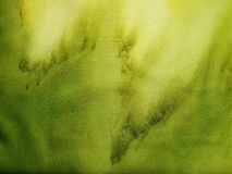 Beautiful green fabric texture ,can use as background Royalty Free Stock Photography