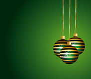 Beautiful green festive background. Royalty Free Stock Photos