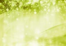 Beautiful green festive background Stock Photos