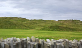 Beautiful green golf course in rural Ireland Stock Photos