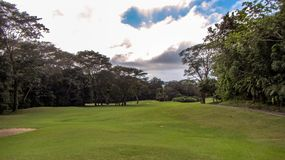Beautiful Fairway At La Iguana Golf Course, Herradura, Costa Rica royalty free stock images