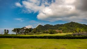 Beautiful Fairway At La Iguana Golf Course, Herradura, Costa Rica stock photos