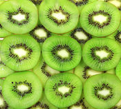 Beautiful green kiwi Royalty Free Stock Images