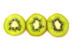 Beautiful green kiwi Stock Image