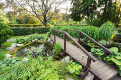 A beautiful green park Royalty Free Stock Images