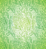 Beautiful green pattern. Royalty Free Stock Photography
