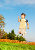 Beautiful green place and children activities Royalty Free Stock Photo