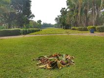 Golf course in Vientiane, Laos royalty free stock photography