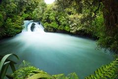 Beautiful Green Tutea Falls stock photos