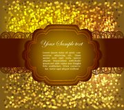 Beautiful greeting card Stock Image