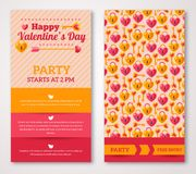Beautiful greeting or invitation cards with key Stock Image