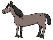 A beautiful grey horse Royalty Free Stock Photos