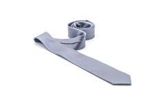 beautiful grey necktie Stock Photos