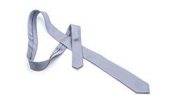 beautiful grey necktie Stock Photography