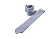 beautiful grey necktie Royalty Free Stock Image