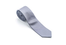 beautiful grey necktie Royalty Free Stock Images