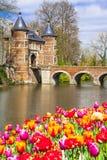 Beautiful Groot-Bijgaarden castle Stock Photography