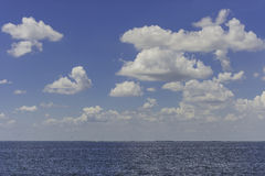 Beautiful group of cloud in blue sky Stock Images