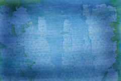 Beautiful grunge blue background Stock Photography