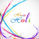 Beautiful grunge colorful stylish holi wave Royalty Free Stock Photos