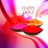 Beautiful grunge holi festival colorful wave  Royalty Free Stock Image