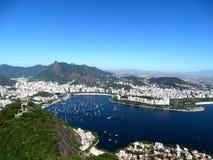 Beautiful Guanabara Bay in Rio de Janeiro, Brazil. royalty free stock photo
