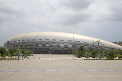 Guangxi Sports Center exterior Royalty Free Stock Image