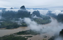 Beautiful Guilin landscape Stock Image