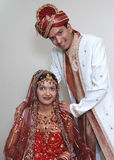 Beautiful Gujarati Couple Royalty Free Stock Images