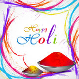Beautiful Gulal for holi grunge colorful  Stock Image