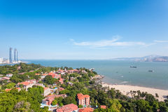 Beautiful gulangyu island in xiamen Royalty Free Stock Photos