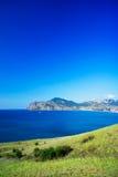 Beautiful gulf near Koktebel. Crimea. Royalty Free Stock Image