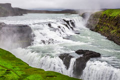 Beautiful Gullfoss waterfall, Iceland Royalty Free Stock Photo