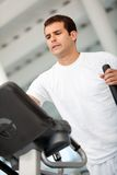 Beautiful gym man Stock Image