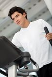 Beautiful gym man Stock Photo
