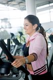 Beautiful gym woman Stock Photo