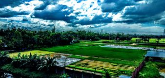 Beautiful Habiganj in Bangladesh. Beautiful habiganj nearby sylhet in Bangladesh royalty free stock photo