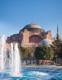 The Beautiful Hagia Sofia in Istanbul Royalty Free Stock Image