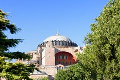 Beautiful Hagia Sophia Royalty Free Stock Photography