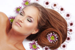 Beautiful hair Royalty Free Stock Image